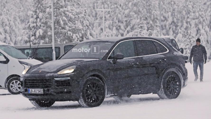 2018 Porsche Cayenne kış testlerine başladı