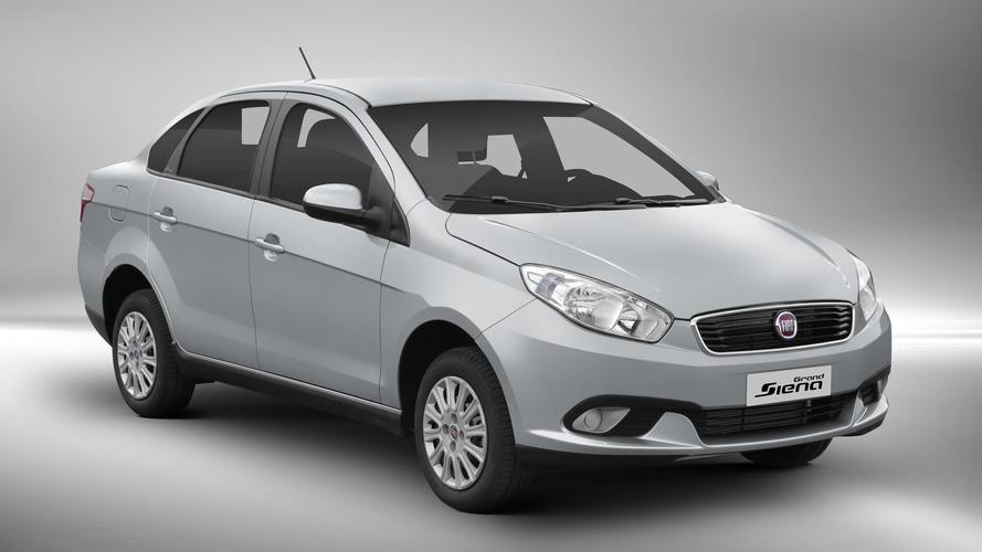 Fiat Grand Siena fica mais caro e chega a R$ 51.990