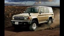 Toyota Land Cruiser 70 volta ao Japão para comemorar aniversário de 30 anos