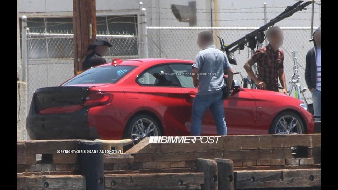 BMW Série 2 é flagrado sem disfarce