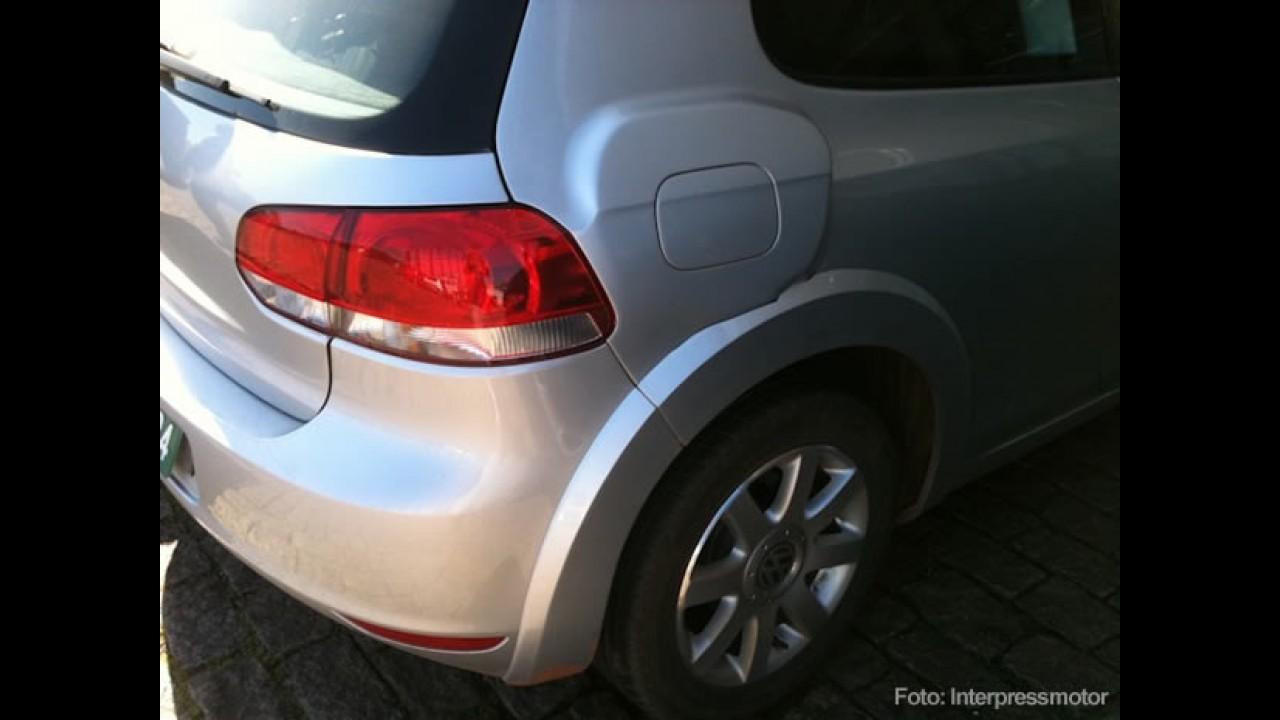 Novo VW Golf VII é flagrado novamente no Brasil