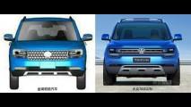 VW Taigun nem foi lançado e já tem clone na China!