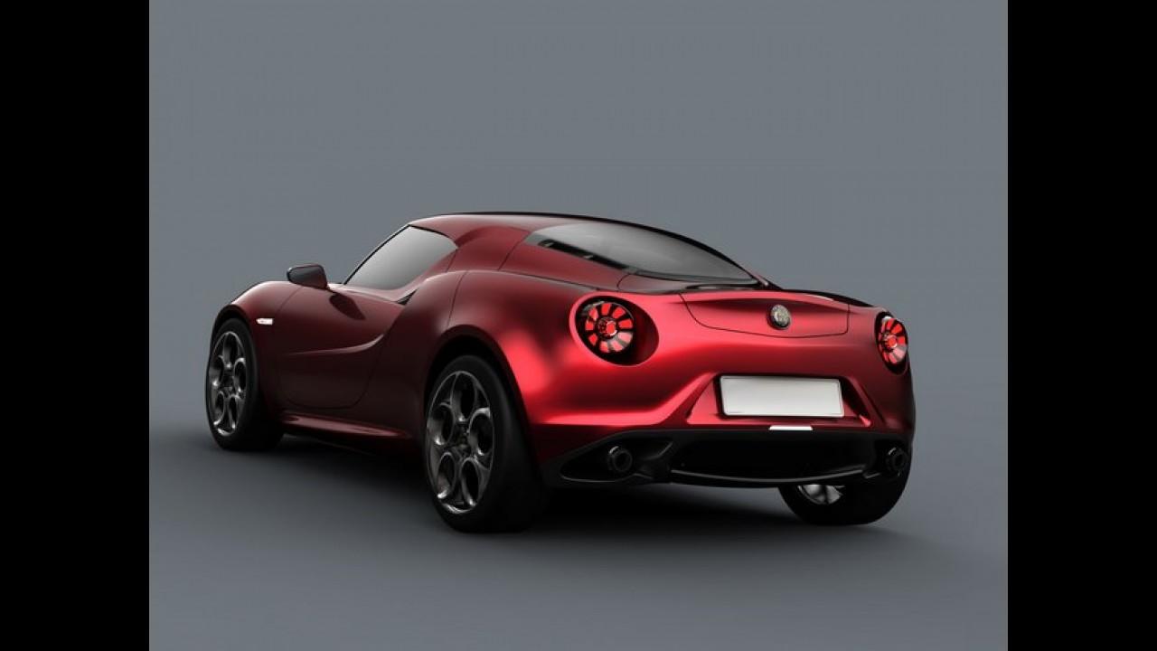Alfa Romeo 4C terá versão de produção em breve