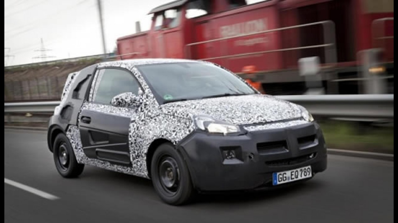 Opel Adam é o nome oficial do novo subcompacto alemão