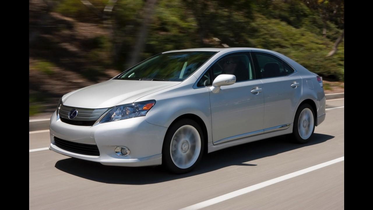 Versão de luxo do Toyota Prius, híbrido Lexus HS250H deixa de ser fabricado