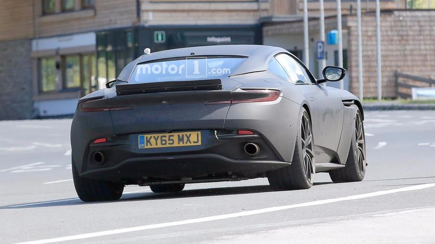 Aston Martin DB11S fotos espía