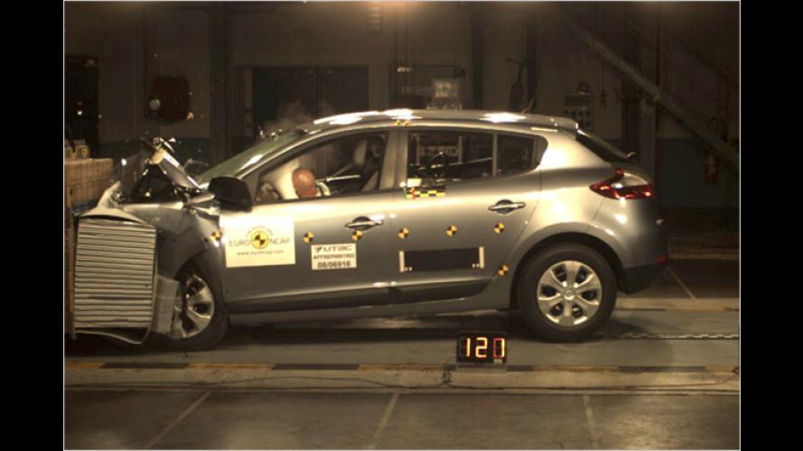 Fünf Sterne für den neuen Renault Mégane