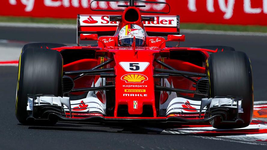 Doblete de Ferrari y Vettel evita que Hamilton iguale a Schumacher