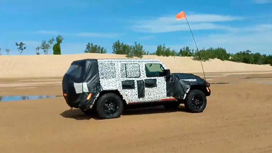 2018 Jeep Wrangler ilk kez off-road testinde görüldü