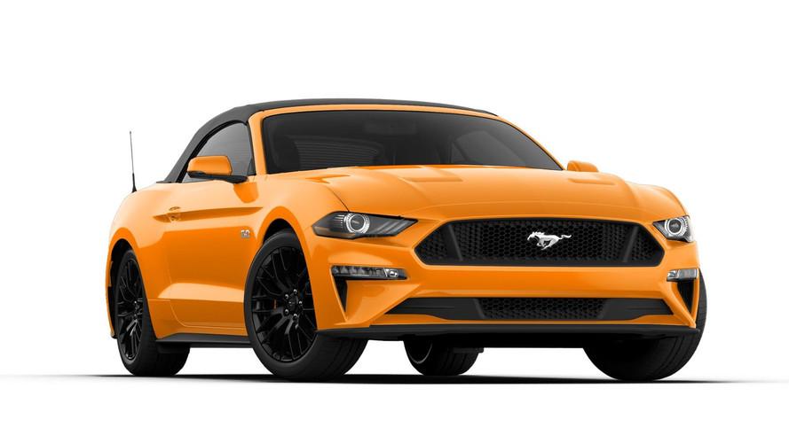 Ford Mustang 2018 : un restylage et de la puissance