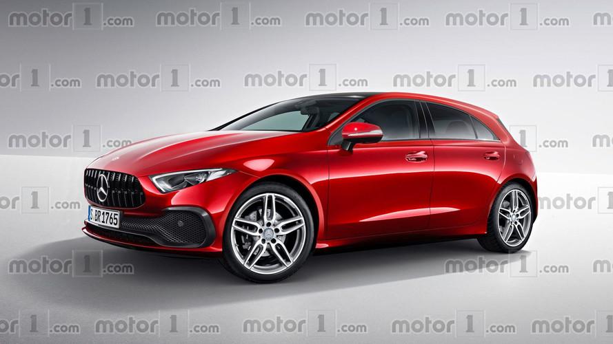 New Mercedes A Class Render Transforms Sedan Concept Into
