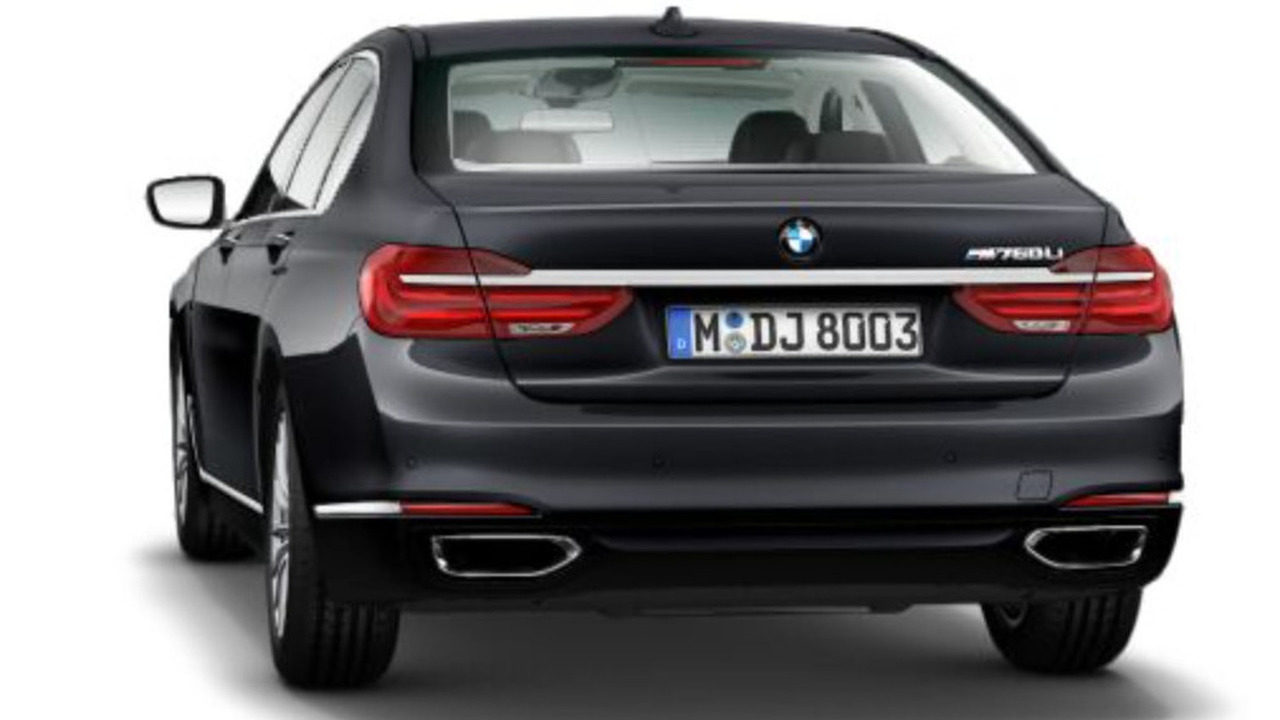 BMW M760Li leaked image