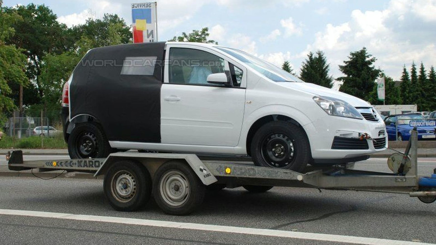 All New Opel Meriva Spied