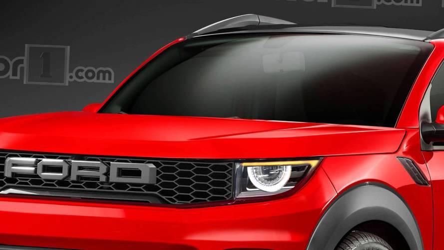 Novo SUV Ford Maverick 2020 - Projeção