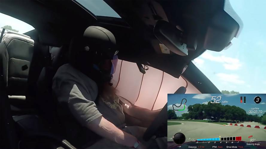 Watch Chevy Camaro ZL1 Airbags Deploy Without The Car Crashing