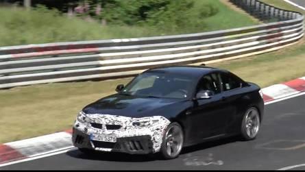 BMW M2 CS Nürburgring'de görüntülendi