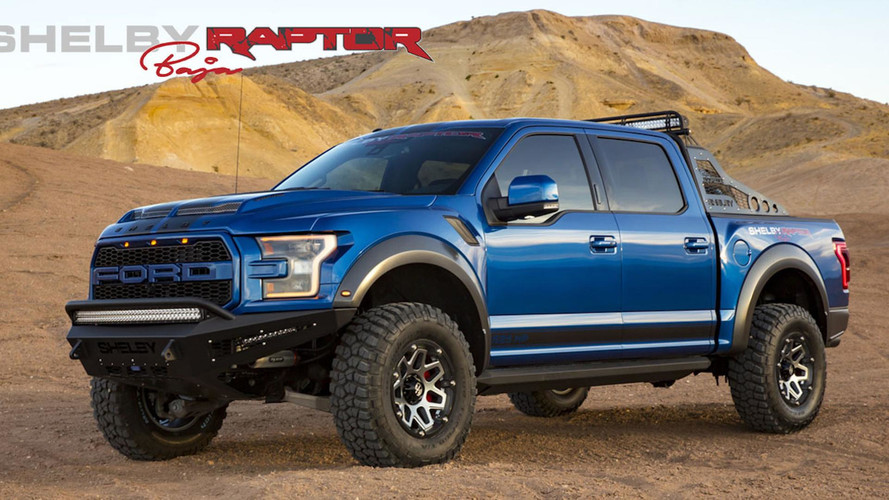 Shelby's Rugged Ford Raptor Baja Packs 525 HP