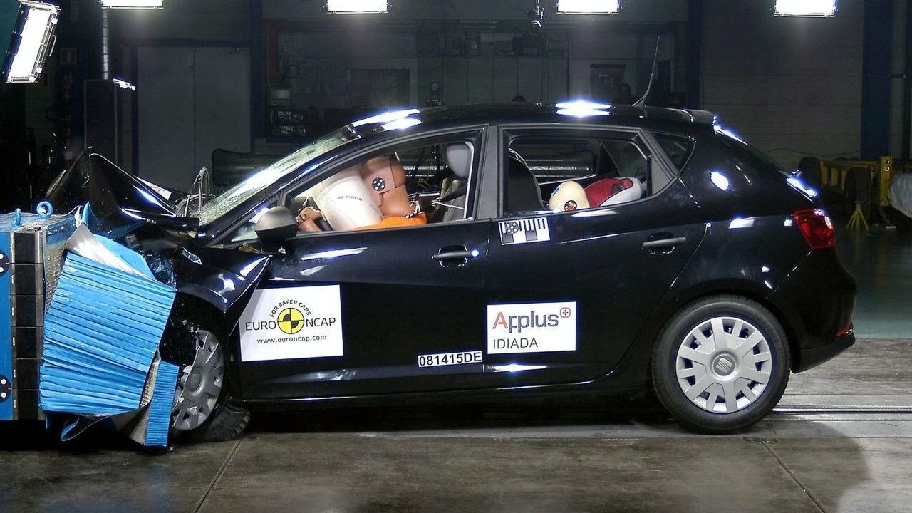 New 2009 Seat Ibiza Euro-NCAP crash test