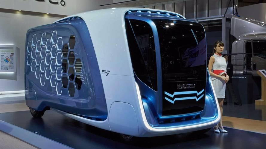 Isuzu Reveals Wild Vision Of Future Delivery Vehicles