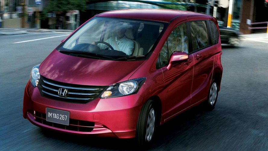 Honda Presents A Grown-Up Jazz/Fit, The Freed Minivan