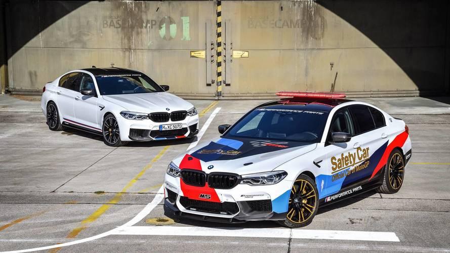 2018-tól az új BMW M5 lesz a MotoGP biztonsági autója