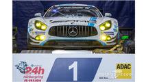 1st place #4 AMG-Team Black Falcon, Mercedes-AMG GT3