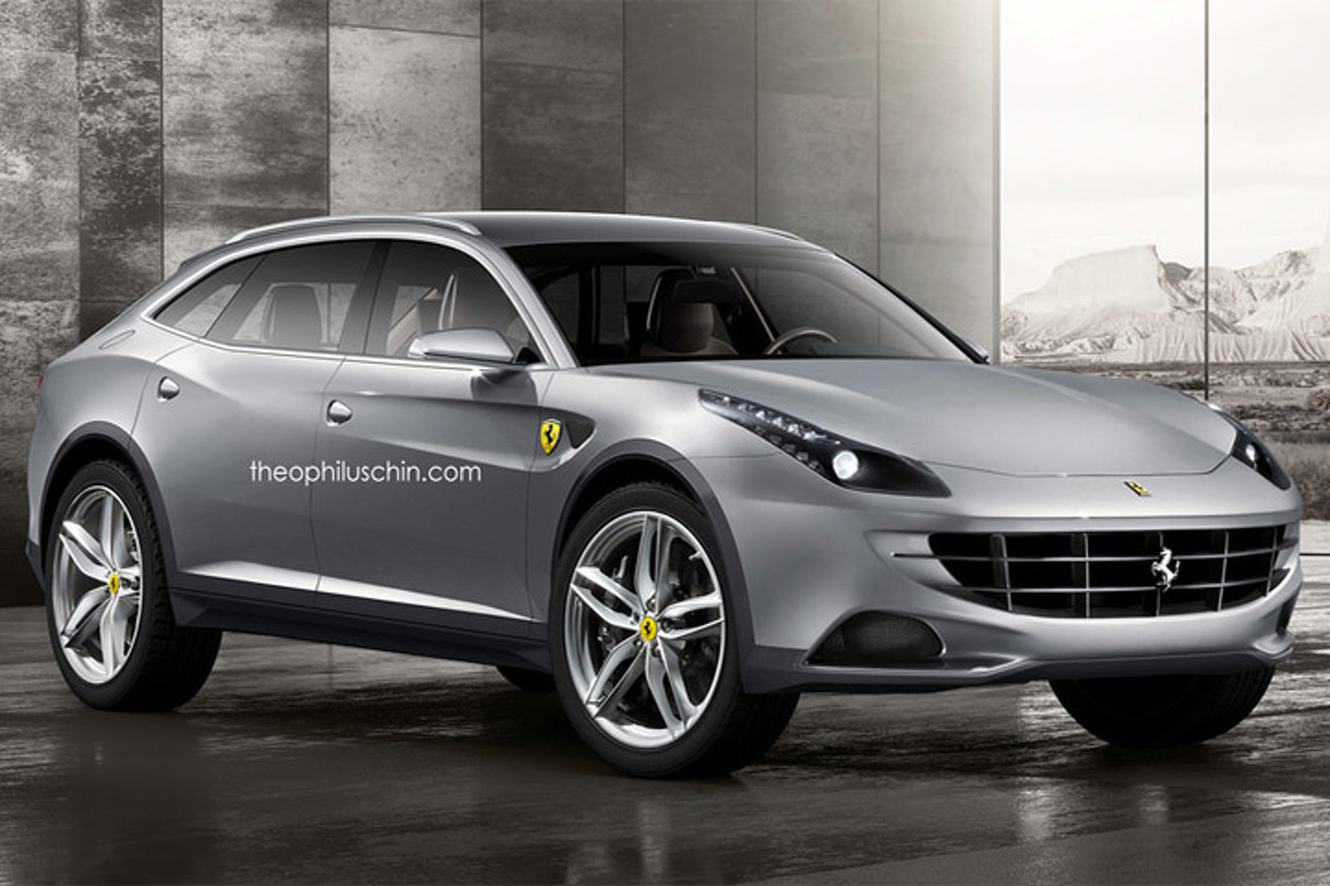 Ferrari suv production confirmed still several years away for New door design 2016