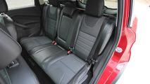 Ford Escape rear seats