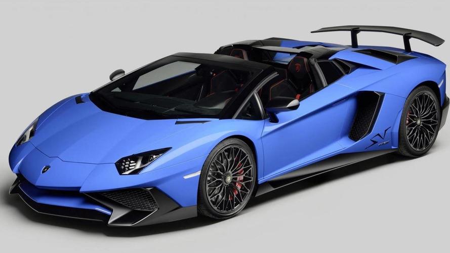 Lamborghini Aventador SV Roadster unveiled