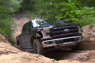Watch A Ford Raptor Mule Tear Up A Michigan Forest