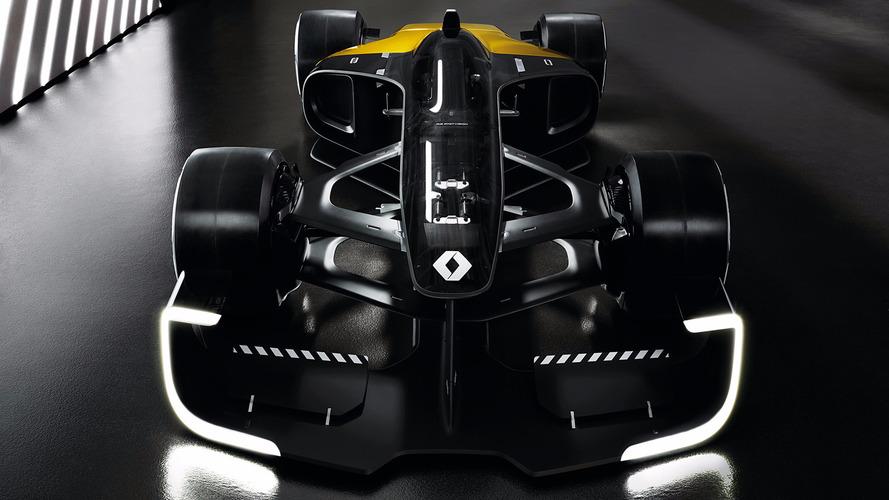 GALERIA: Renault revela carro-conceito de F1 para 2027