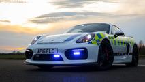 Porsche Cayman GT4 Police Car