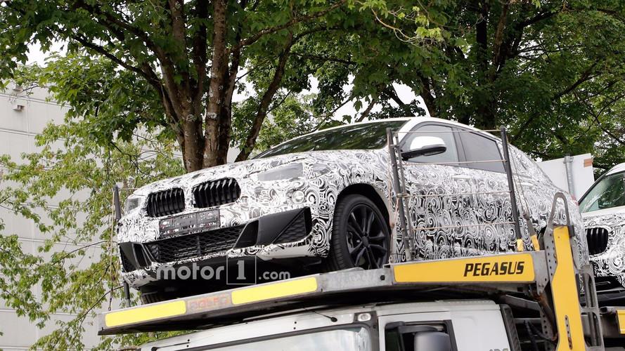 BMW X2 Front End Spy Photos