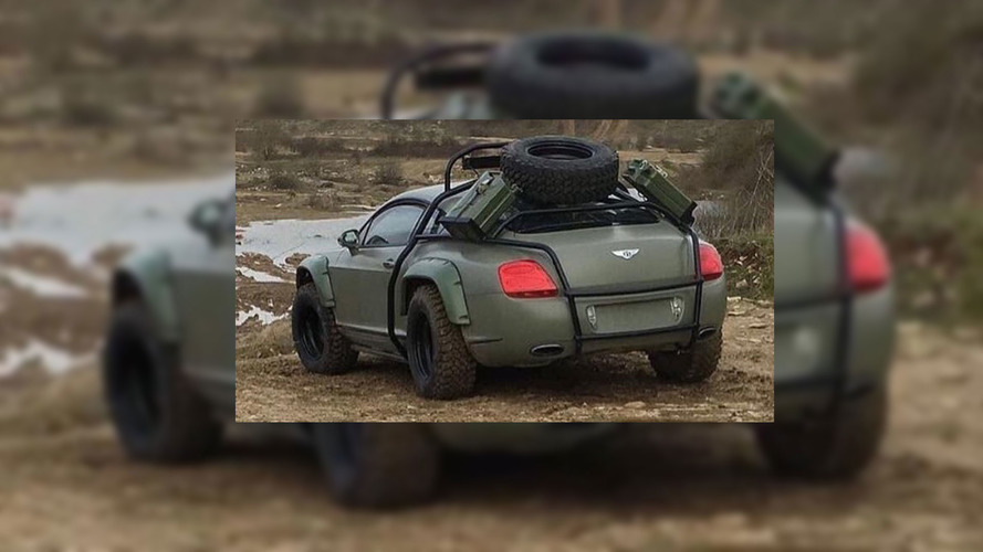 Is This 'Mad Max' Bentley Continental GT Off-Roader The Real Deal?
