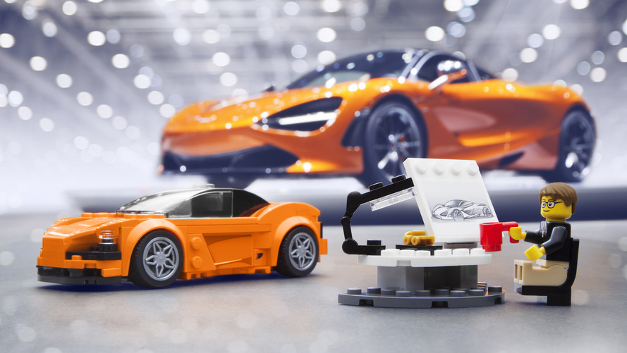 Lego McLaren 720S Kit Was Built For Kids, But We Want One