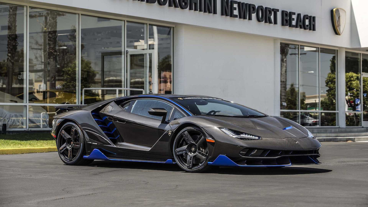 First Lamborghini Centenario In The U S Shows Up In Cali