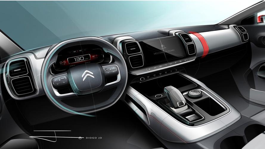 Citroën C5 Aircross - Et maintenant, l'intérieur !
