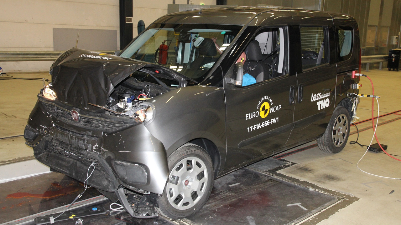 2017 fiat doblo euro ncap crash test photo. Black Bedroom Furniture Sets. Home Design Ideas