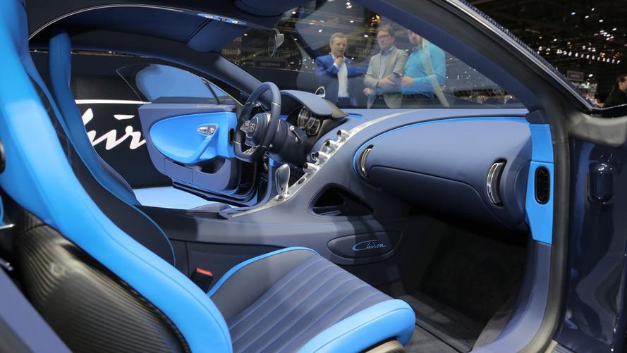 La Bugatti Chiron en Live à Genève