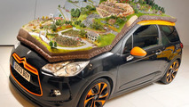 Citroen DS3 with scale rally scene
