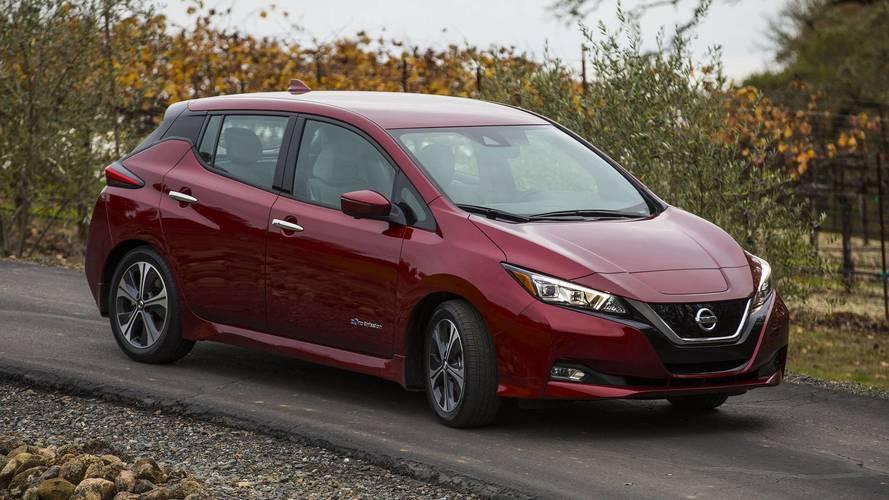 Népszerű lett Európában az új Nissan Leaf