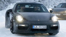 Porsche 911 / 911 Turbo facelift spy photo