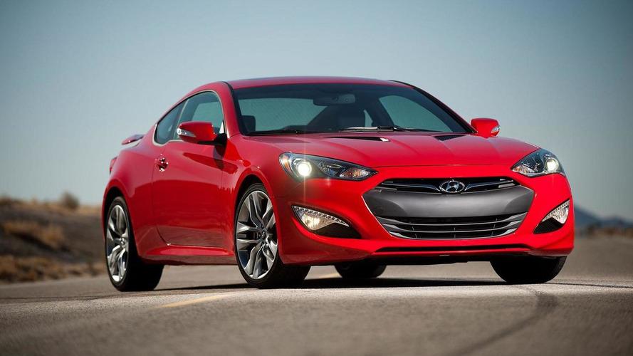 2014 Hyundai Genesis Coupe revealed with minor updates, improved transmissions