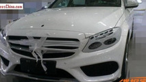 Mercedes-Benz C-Class L photographed virtually undisguised