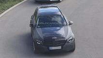 2015 Mercedes-Benz C-Class Estate spied testing [video]