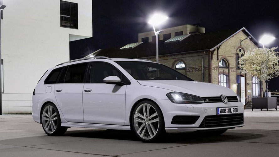Volkswagen Scirocco & Golf Variant gain new R-Line packages