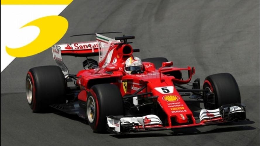 Formula 1, per Vettel