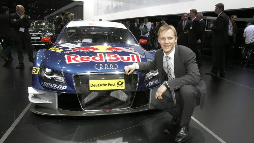 Audi A4 DTM unveiled in Geneva