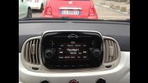 Fiat 500 restyling vista dal vivo