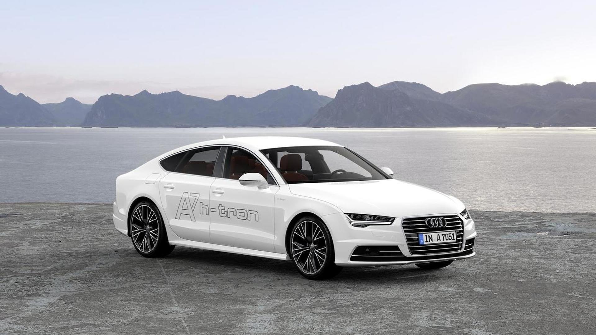Audi A7 Sportback h-tron quattro concept 2014